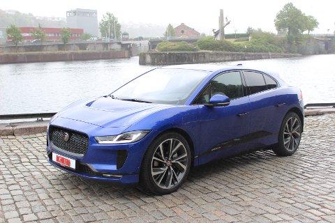 FØRST UT PÅ STRØM: Nye I-Pace er Jaguars første elbil og kan bli en storselger i Norge.