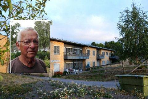 VARMT: Det er ifølge de pårørende særlig varmt i leilighetene i annen etasje av bygget på Gipø. Hjemsengveien 15 har totalt 18 omsorgsboliger.