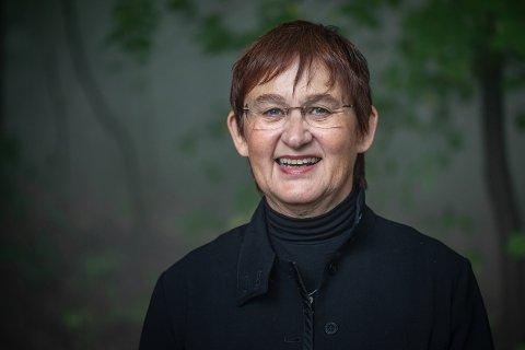 KABARET: Kristin Kinsarvik laget kabaret om den unge Sigrid Undset.