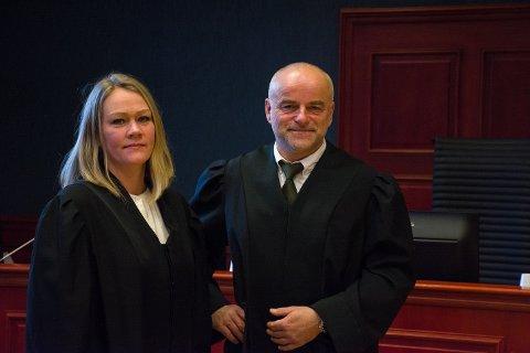 AKTORER: Lene Skeistrand og Jon Borgen er aktorer i ankesaken som går over flere uker i Agder lagmannsrett i Tønsberg.