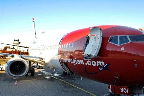 LEGGER NED: Norwegian strammer inn rutetilbudet. Det rammer ikke Torp-trafikken. Arkivfoto