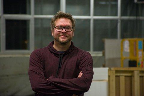 FØLGER DRØMMEN: Rune Kjellsen satser på å leve av paintballdrift. Da trengs et anlegg som kan holde åpent hele året.