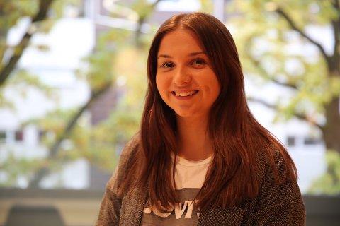KRETA: Cecilia Bakkeløkken valgte å ta deler av lærlingtiden på Kreta. Det angrer hun ikke på.