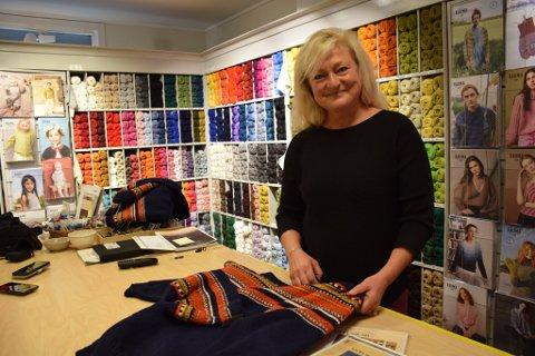 KONKURRANSE: Ordfører Anne Rygh Pedersen (Ap) vil ha din hjelp til å designe Tønsberg-genseren.