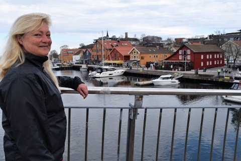 FREMTIDSRETTET: Anne Rygh Pedersen, påtroppende ordfører i Tønsberg kommune mener kommunen må forberede seg på flere naturkatastrofer fremover.
