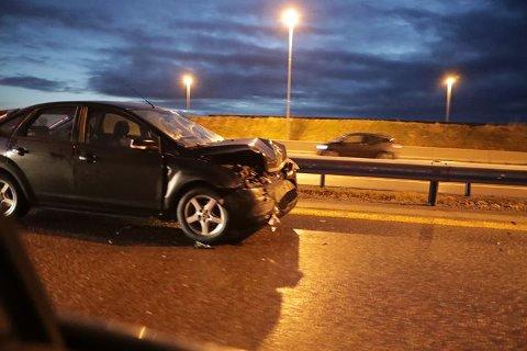 E18: Onsdags morgen var to biler involvert i en ulykke på E18.