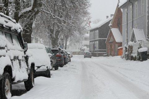 Nå som vi trodde våren endelig var kommet for å bli, så kommer det altså mer vinter og snø.