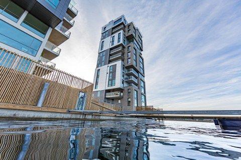 EKSKLUSIV: Signaturen er et av de mest eksklusive boligene i Tønsberg.