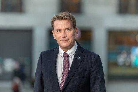 ANBEFALER MOTKONJUNKTURPOLITIKK: Stortingsrepresentant Kårstein Eidem Løvaas (H) mener kommunene nå må gjøre alt de kan for å få fart på næringslivet, ved å framskynde egne innkjøp og prosjekter.