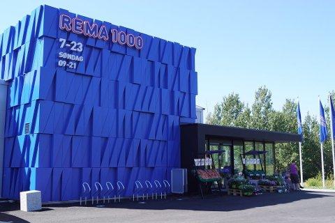 SLIK: Pyttene AS ønsker å bygge en slik Rema 1000-butikk vegg i vegg med Maxbo på Ilebrekke, men kommunen har så langt gitt avslag. Nå er det Fylkesmannen som avgjør om utbyggerne får medhold i klagen.