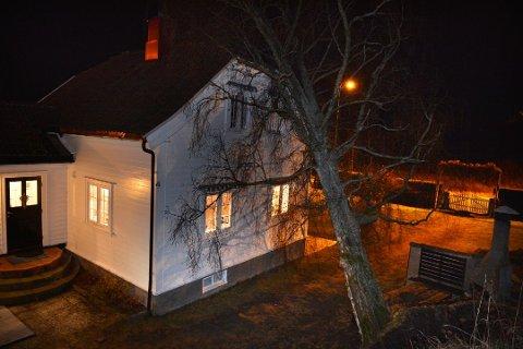 Slik så det ut på Torød på Nøtterøy etter uværet som herjet i Vestfold en desemberkveld i 2013.