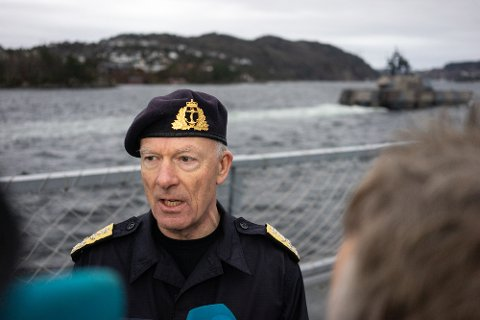 Forsvarssjef Haakon Bruun-Hanssen sier han blir forbannet over omfanget av voldtektssaker i Forsvaret det siste året. Foto: Alexander Øvrebø / NTB scanpix