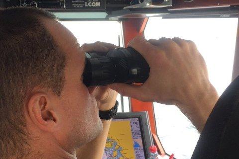 Redningsskøyta «Horn Rescue» deltok i søket etter tresnekka.