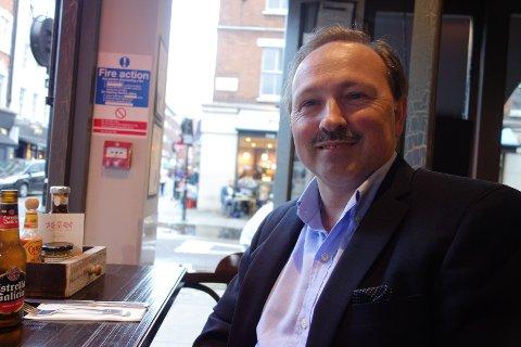 BEDRE FØR: Da var det mer liv i byen, mener Jan Petter Andersen.