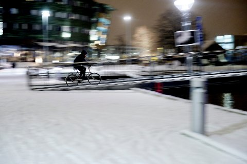 MER AV DETTE: Kommunen bør søke om penger til prosjekter som før til økt bruk av sykkel, mener Tønsberg Venstre.
