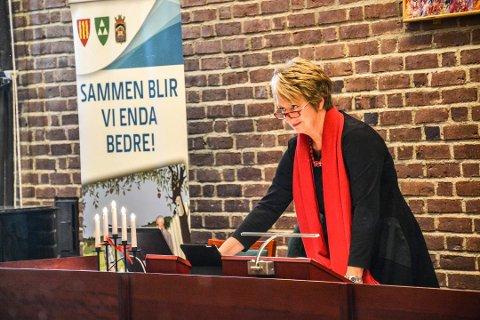 ANSATT: Tildigere rådmann i Sandefjord, Gudrun Haabeth Grindaker, er ny sjef for sekretariatet i Norsk Rådmannsforum.