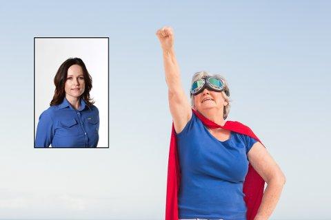 SUPERKVINNER: Å slite med eget selvbilde er ikke noe nytt for damer. Men løsningen på hvordan vi skal tre fram og få en stemme blir i disse kontekstene mer og mer sentrert rundt alternative kurspakker med individualiserte øvelser, skriver Rakel Rohde.
