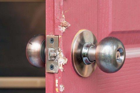 INNBRUDD: Det er få innbrudd i hus med boligalarm.