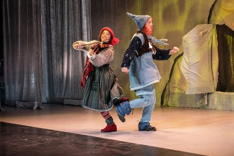 JULEGLEDE FOR HELE FAMILIEN: Nøtterøy Kulturhus ønsker små og store nisser velkommen til oppsetningen i desember.