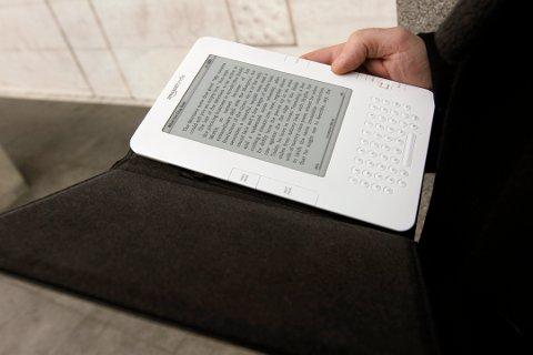 Ebøker blir billigere. Foto: Terje Bendiksby / NTB scanpix