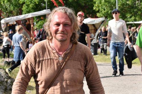 GODT FORNØYD: Festivalsjef Terje Floberg kan se tilbake på en festival med blant annet ny, suveren publikumsrekord.