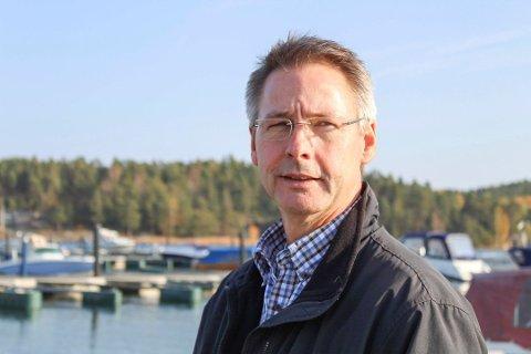 STRANDSONEN: Høyres ordførerkandidat Tom Mello.