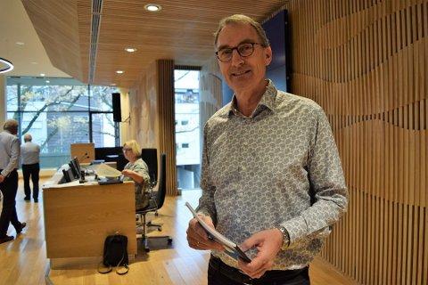 KRITISK: Å bygge ny vei til Bakkenteigen nordfra vil bare gi mer biltrafikk til universitetet, fryktet Harald Moskvil (MDG).