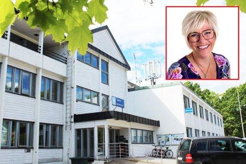 Kommunaldirektør Hilde Schjerven vil at den nye ungdomsskolen skal være bærekraftig og fremtidsretta.