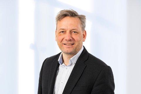 Thor Bjørn Omnes, kommunikasjonssjef i Skagerak Energi