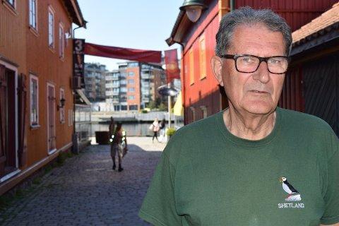 BEKYMRET: Tønsberg er nær ved å bli den dårligste utgaven av seg selv, mener Per Mikkelsen, som er svært kritisk til de siste tiårenes plan- og byggepolitikk i byen.