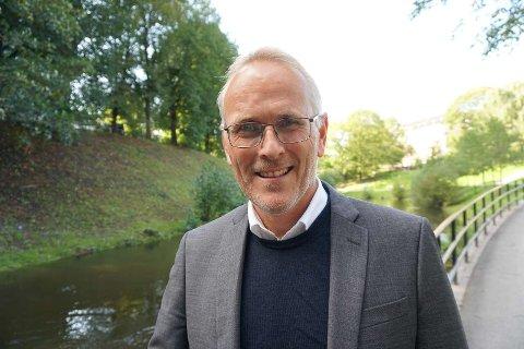 TOPPSJEF: – Jeg ser fram til å utvikle Blå Kors for morgendagen, sier tidligere domprost i Tunsberg, Kjetil Haga. Han er nylig ansatt som generalsekretær i organisasjonen med 1300 ansatte.