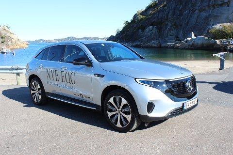 MEST «VANLIG» BIL: EQC er først og fremst en tradisjonell Mercedes-Benz, med fokus på komfort, sikkerhet og kjøredynamikk, dernest en elektrisk bil. Totalpakken fungerer bra.