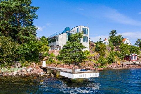 DRØMMEHUSET: Dette huset i Hermelinveien i Husvik kjøpte Oddvar Kristiansen.