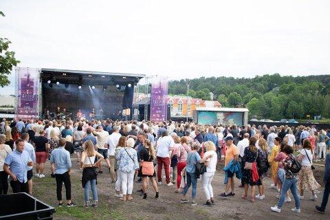 KONSERT LØRDAG: Færderfestivalen 2019 får advarsel etter å ha brutt alkoholloven. Foto: Celina Stamper
