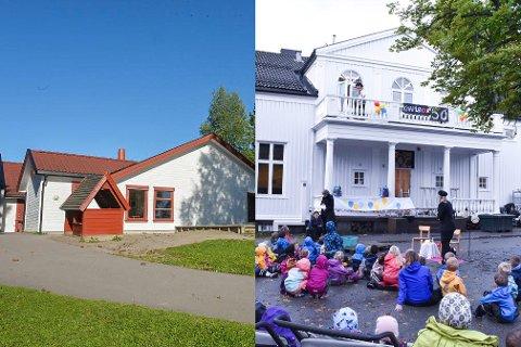 FORSKJELLER: Brekkeåsen barnehage i Våle og Knapløkka barnehage i Tønsberg har ulik åpningstid.