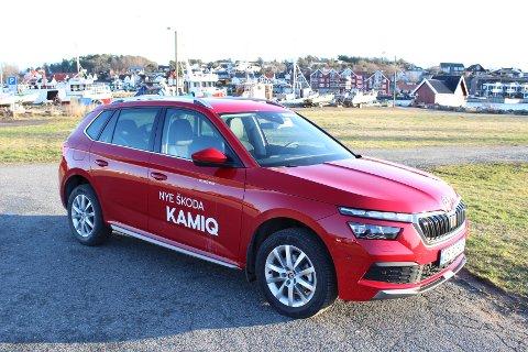 """FAMILIEN UTVIDES: Med Kamiq har Skoda fått et nytt tilskudd i SUV-familien. Skodas velkjente """"Simply Clever""""-løsninger er selvfølgelig på plass."""