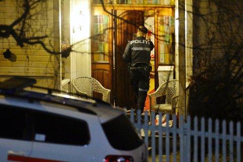 INNBRUDD: Også i Drammen ble det meldt om to innbrudd i natt. Det ene i 2. Strøm Terrasse, der en mann ble sett inne på et soverom.