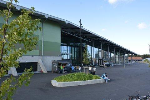 BOIKOTTES: Norges håndballforbund har vedtatt full boikott av Oslofjord Convention Center, eller Oslofjord Arena, som den enorme hallen på Brunstad også kalles.