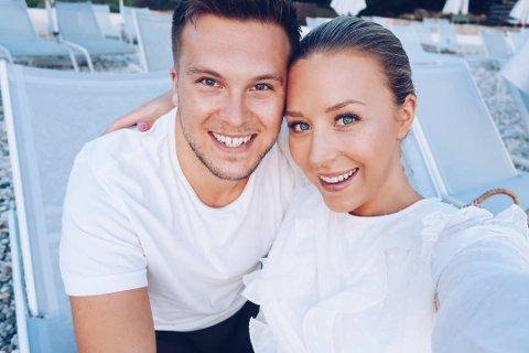 PÅ FLYTTEFOT: Ida Wulff og forloveden Dennis Andersen flytter til Fredrikstad.