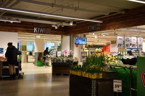 STØRST: Kiwi har seks butikker i Tønsberg og tre i Færder. Her fra Foyn i Nedre Langgate.