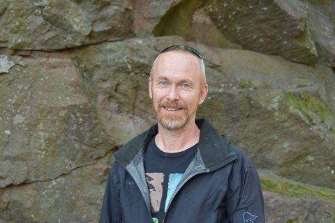 ADVARER: Regionleder Terje Grotle i hjelpeorganisasjonen A-Larm advarer mot mistenkt spredning av amfetamin med opiater innblandet i Tønsberg og Sandefjord.