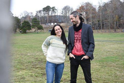 LIKE INTERESSER: Line Emilie Gjørtz-Larsen og Fredrick  Skauge er søsken og begge medlemmer i Mensa.