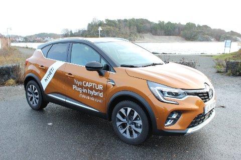 PREMIERE: Nye Captur plug-in hybrid er utviklet med bakgrunn i Renaults F1-ekspertise. Modellen er første ladehybrid i B-SUV segmentet i denne prisklassen.