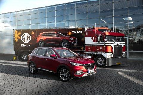 HYBRID: MG EHS er det neste tilskuddet til MG-porteføljen til Branko's Auto. Det er en ladbar hybrid.