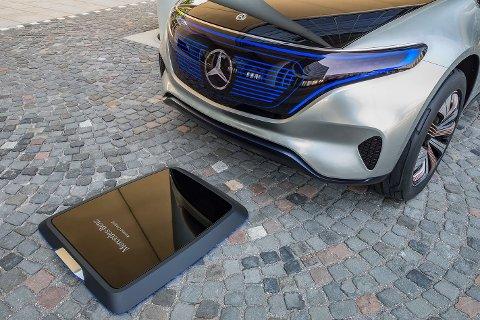 Denne induktive platen skal gjøre det enklere å lade elbilen – og den kan komme ganske snart.
