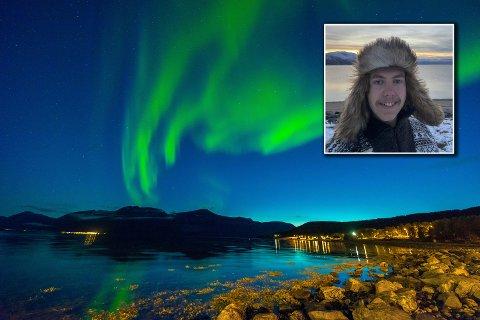 WOW! Landskapsfoto er Einar Anbjørn Hansens spesialfelt. Her er nordlyset fanget med kamera under en reise til Troms.