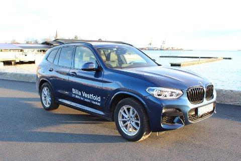 INNERTIER: Nye BMW X3 Plug in Hybrid er en svært vellykket kombinasjon av miljø og sportslighet.