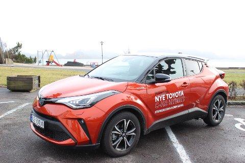MAKEOVER: Mens grunnformen er den samme som tidligere, har nye Toyota CH-R fått enkelte kosmetiske detaljer som gir bilen et mer raffinert uttrykk.