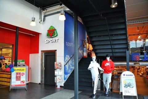 KONKURS: Gresvig-kjeden slås konkurs. Den driver en rekke G-sport-butikker. Det er ikke kjent om butikken på Kilen i Tønsberg rammes av konkursen.