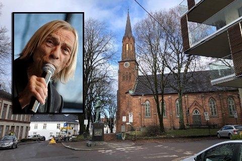 BISETTES I TØNSBERG: Jahn Teigen bisettes i Tønsberg Domkirke onsdag 11. mars klokken 12.30.